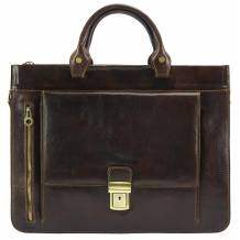 Donato leather Briefcase