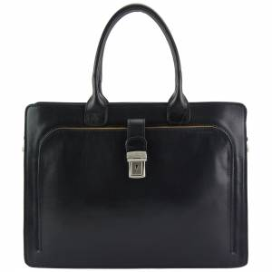 Giacinto leather business bag