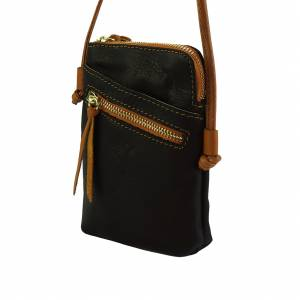 Adriana Cross-body leather bag