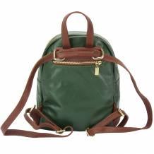 Carola leather backpack