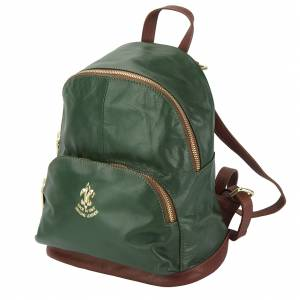 Carola leather backpack