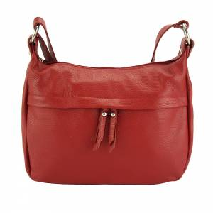 Delizia leather shoulder bag