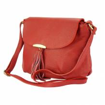 Angelica leather shoulder bag