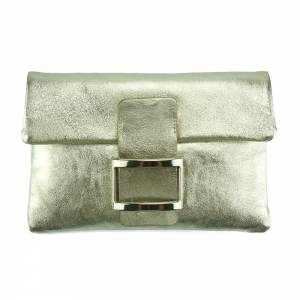 Fernanda leather clutch
