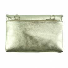 Fernanda leather clutch