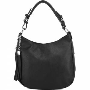 Victoire shoulder bag in calf-skin leather
