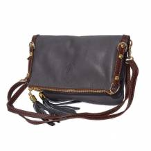 Giorgia GM leather clutch