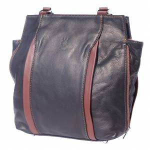 Berri hobo shoulder-backpack leather bag