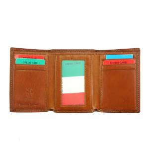 Bartolomeo V leather wallet