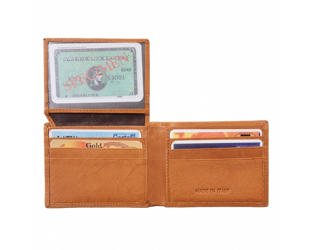 Wallet /& Card Cases Italian Genuine Leather Hand made in Italy Florence PF111