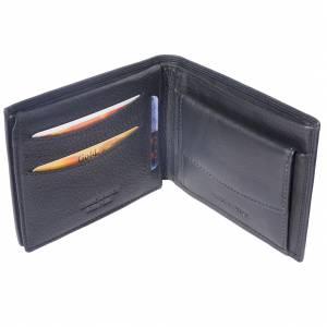 Lederbrieftasche mit Tasche für Münze