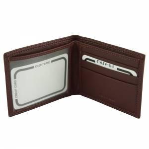 Mini portafoglio Leo