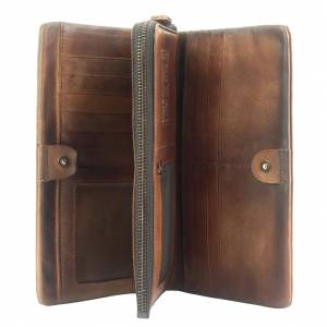 Wallet Boris in vintage leather