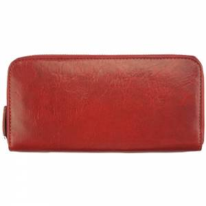 ZIPPY V Wallet in cow leather