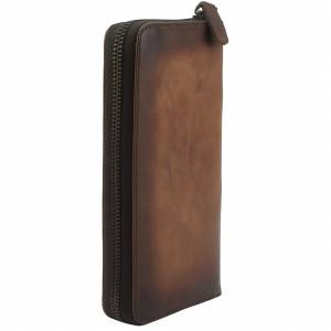 Clemenza Vintage leather wallet