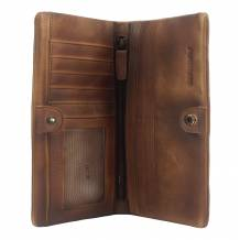 Wallet Bernardo in vintage leather