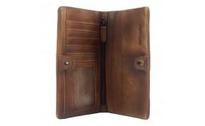 Wallet Bernardo in vintage leather