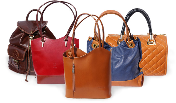 Italy Fashion Handbags Handmade In Italian Leather Factory